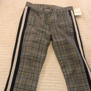 Mother plaid pants